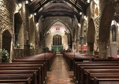 Electricians Southend Recent Work St lukes Church